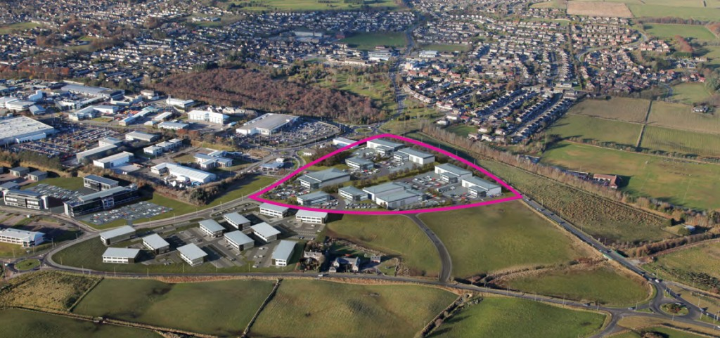 Kingshill Commercial Park location